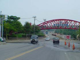 白河二~三公園連接天橋