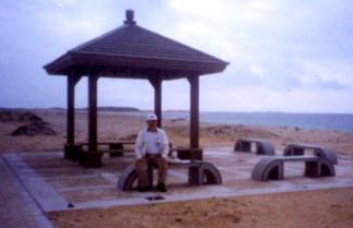 吉貝海灘涼亭