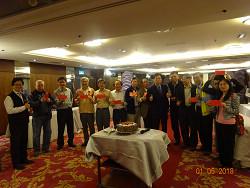 107年度1月份會員座談會-慶生活動